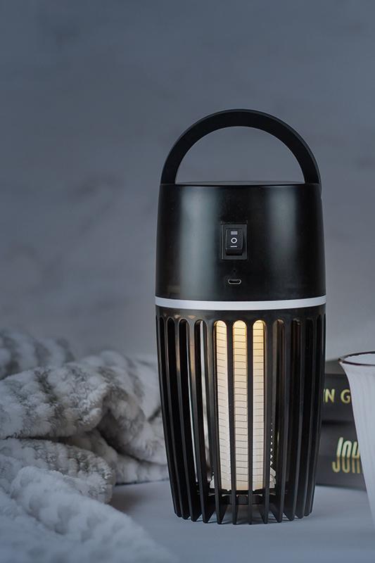 A Skoert Muskiet Mosquito killer lamp on nightlight mode